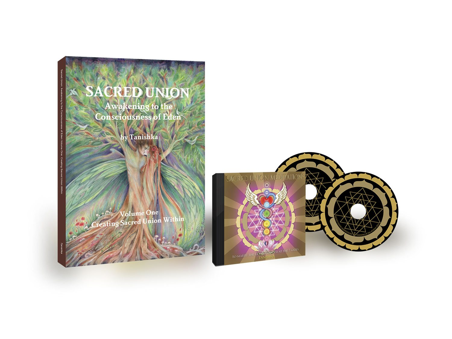 Sacred Union Volume One Book & Sacred Union Double CD Combo!