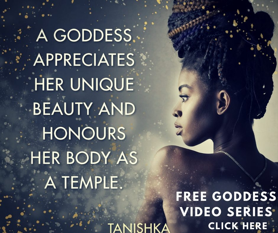 how to be a goddess to a man