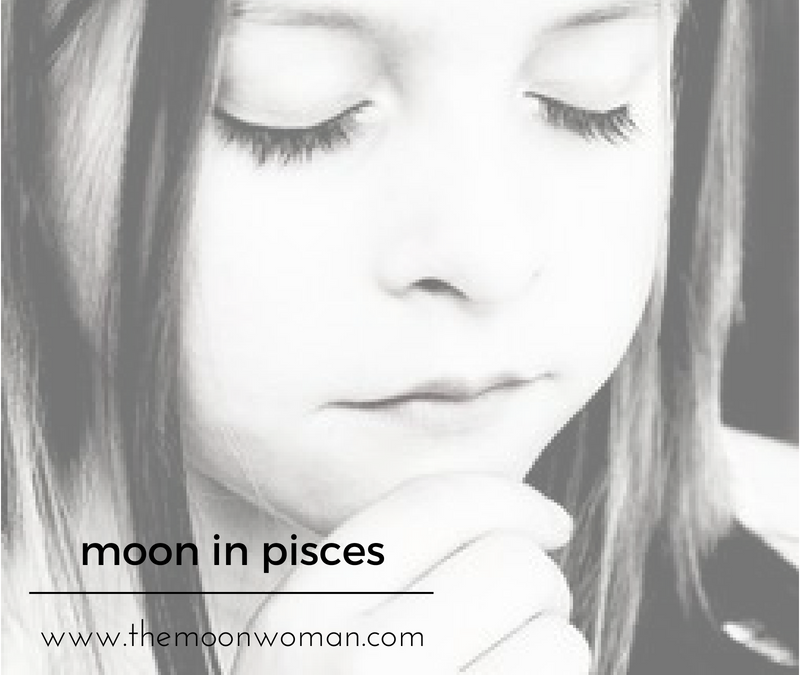 Moon in Pisces | The Moon Woman