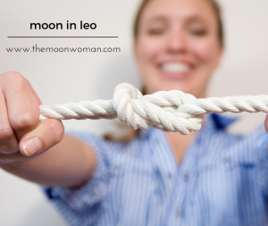 moon in leo, the moon woman