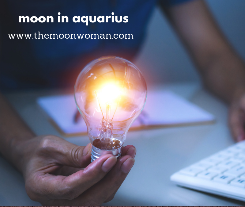 moon in aquarius, the moon woman (1)