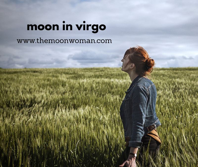 moon in virgo, the moon woman