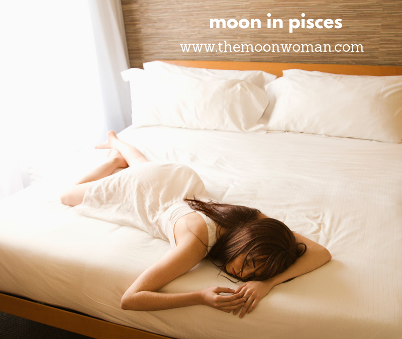 moon in pisces, the moon woman (2)