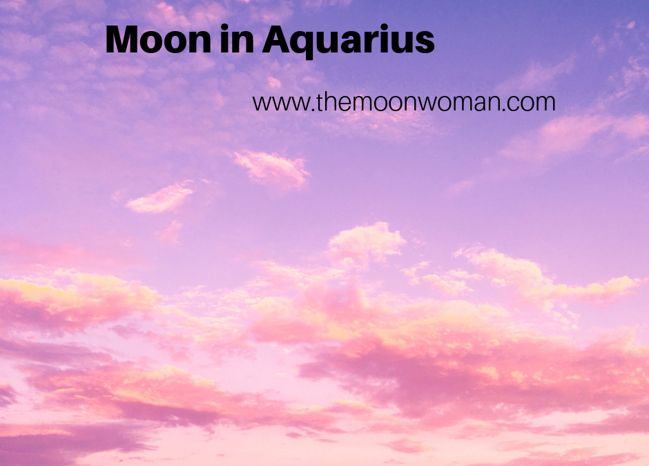 Moon in Aquariius