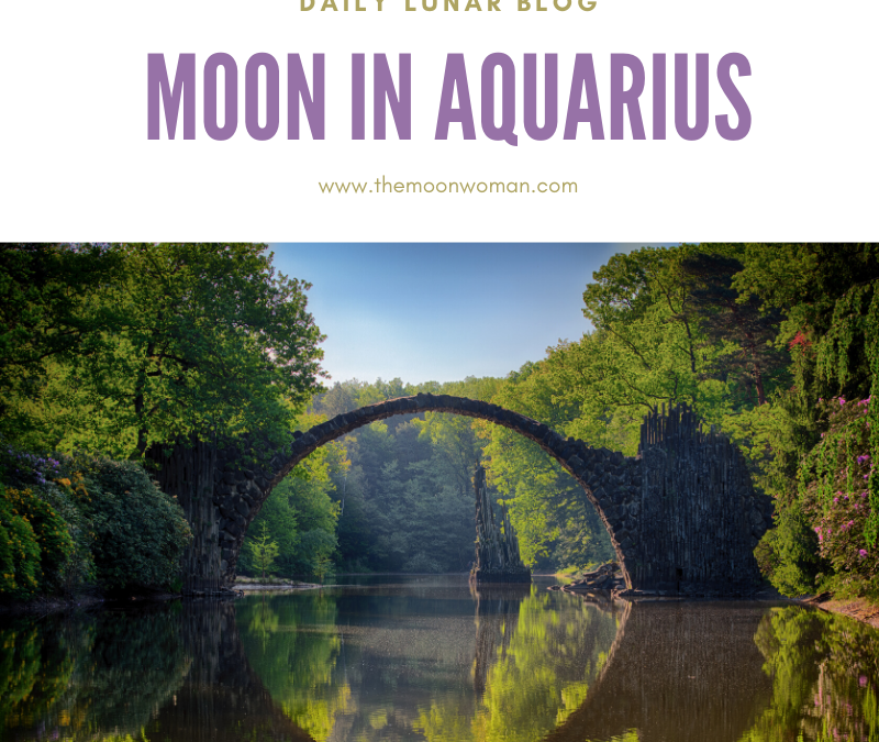 Moon in Aquairius